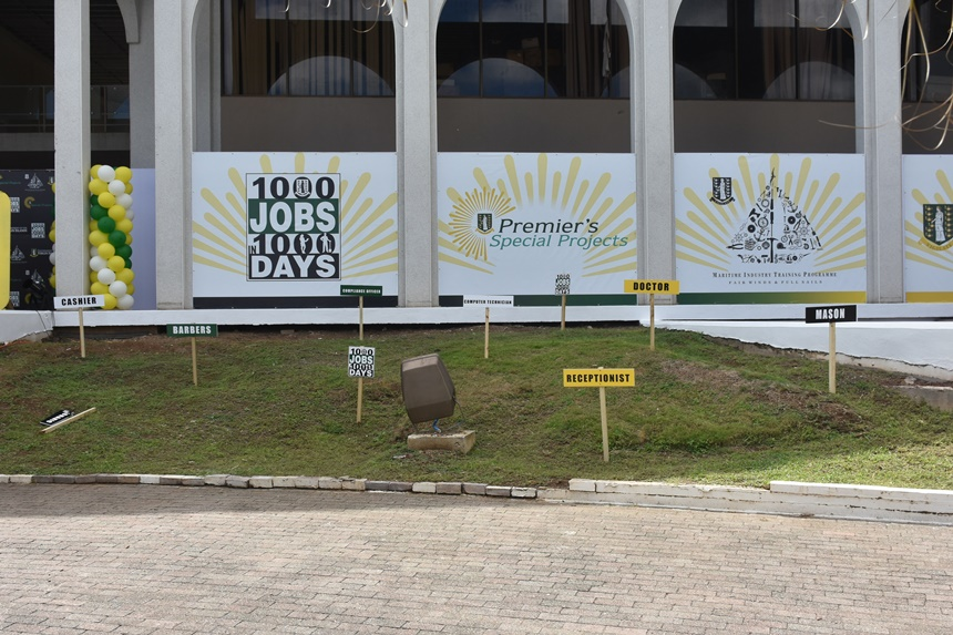 Gov't will be monitoring persons hired under '1000 jobs in 1000 days' initiative