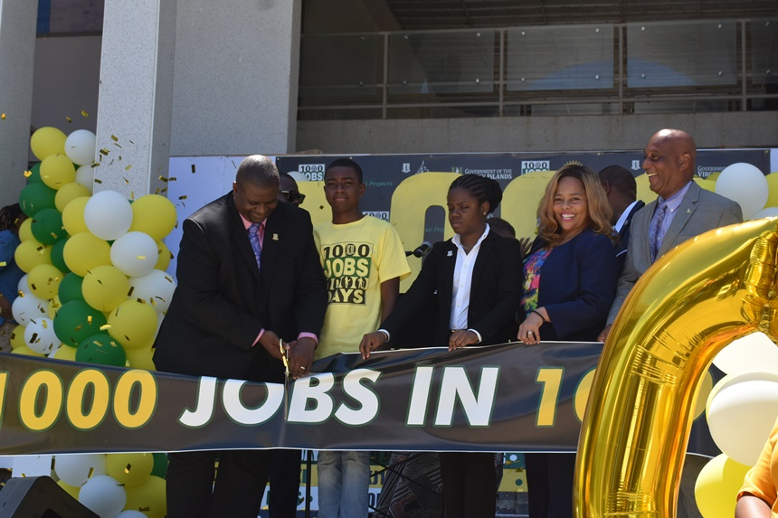 1000 jobs in 1000 days not a gimmick | Premier gives local jobseekers employment guarantee