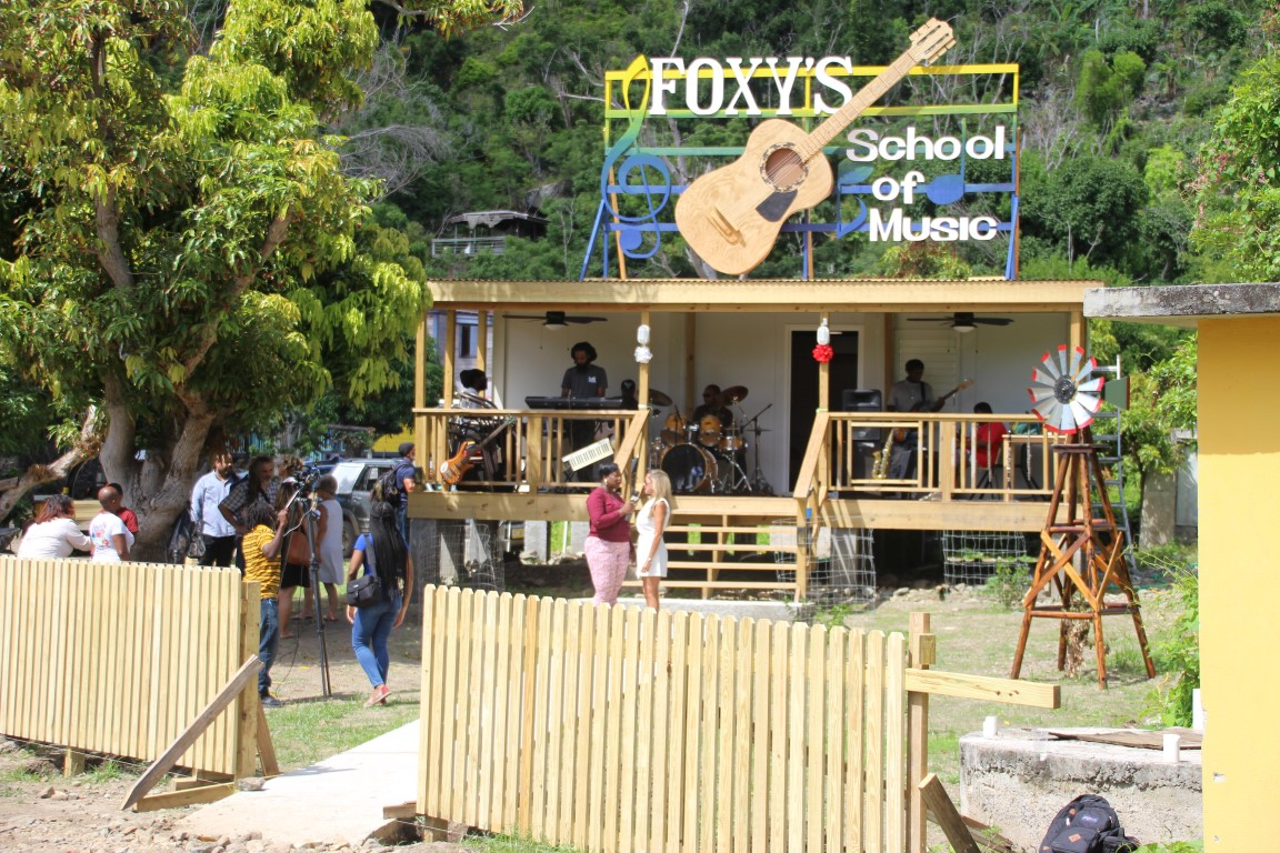 Foxy's School of Music re-opens | There's $$ in music, JVD youngsters told