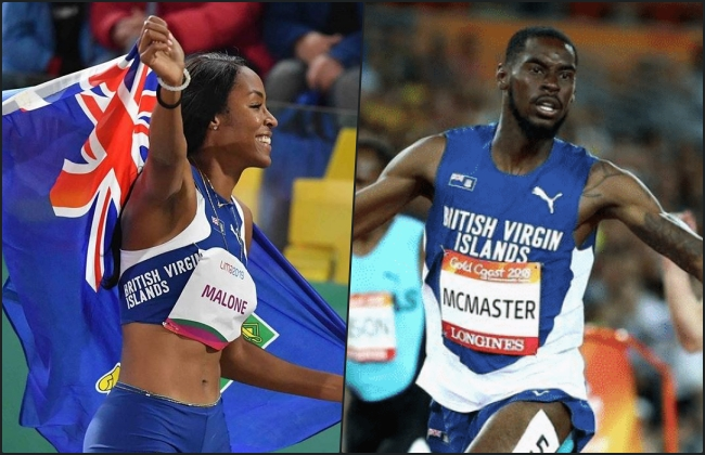 Malone wins gold again! McMaster hurdles to third in European event