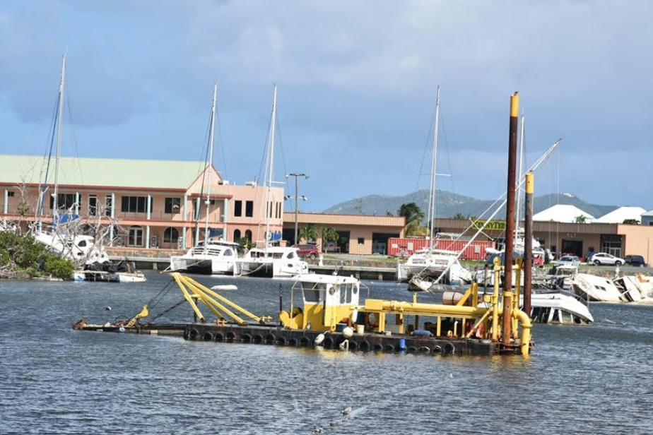 SCB Harbour being dredged, to be used as marine shelter