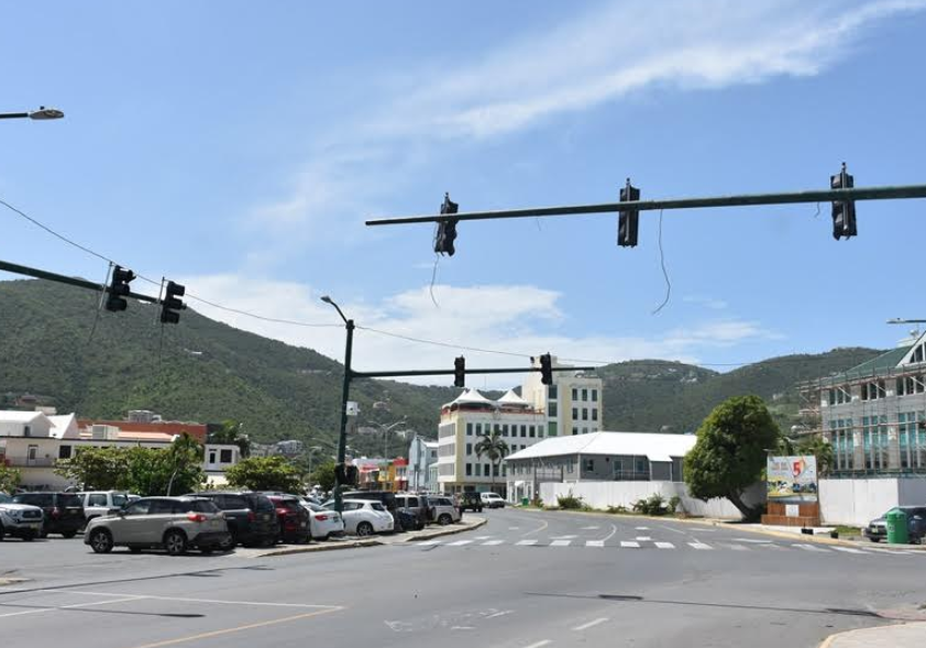 Traffic lights remounted along Waterfront Drive after 2 years, works ongoing
