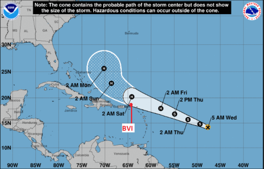 Tropical Storm Jerry forms | Expected to become a hurricane Thursday, hit Saturday