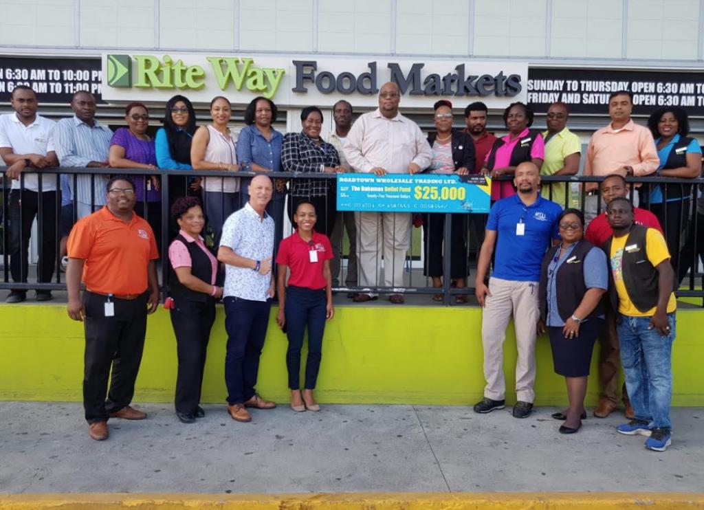 RTW raises $25K for Hurricane Dorian relief for the Bahamas