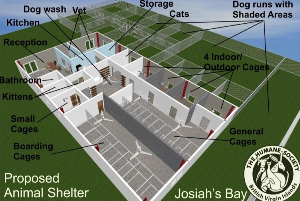 Humane Society seeking $500K in donations to build new animal shelter