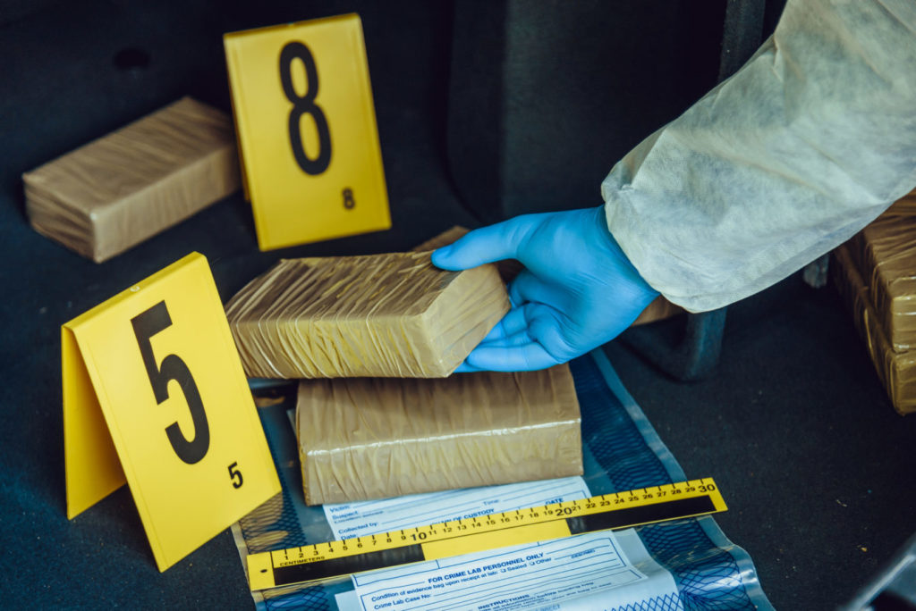 Law enforcers seize large quantity of cocaine from vessel on VG