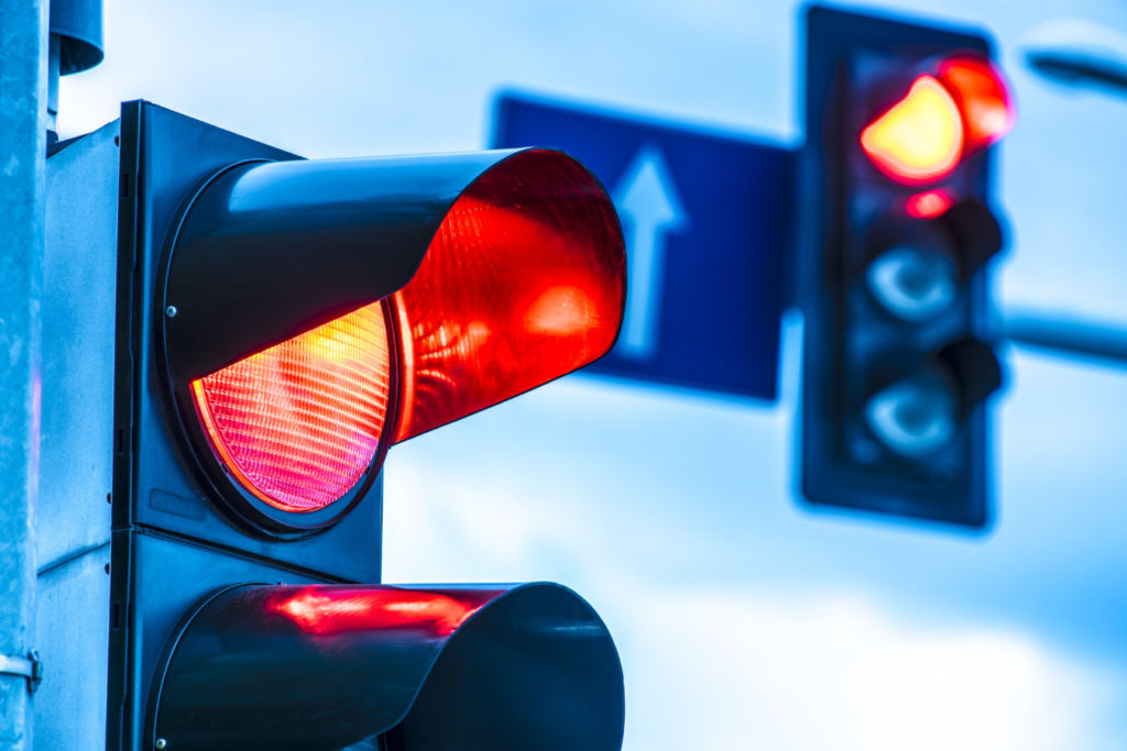 Police increasing patrols in traffic light areas to ensure motorist compliance