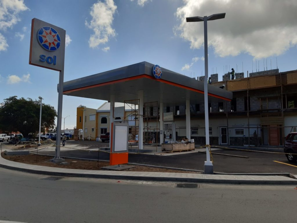 SOL's hurricane-hit Wickhams Cay service station to reopen shortly