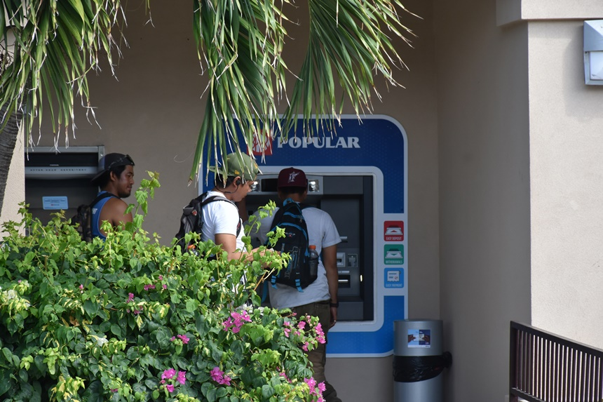 Relief! VG residents switch to Banco Popular following institution's recent opening on island