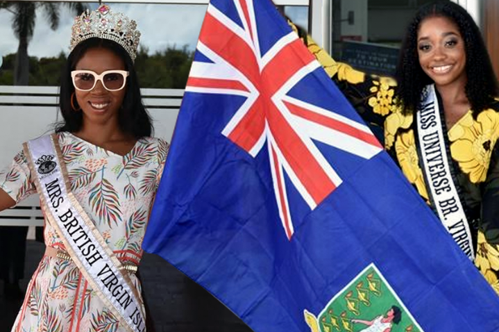 Miss and Mrs BVI depart territory for respective international pageants