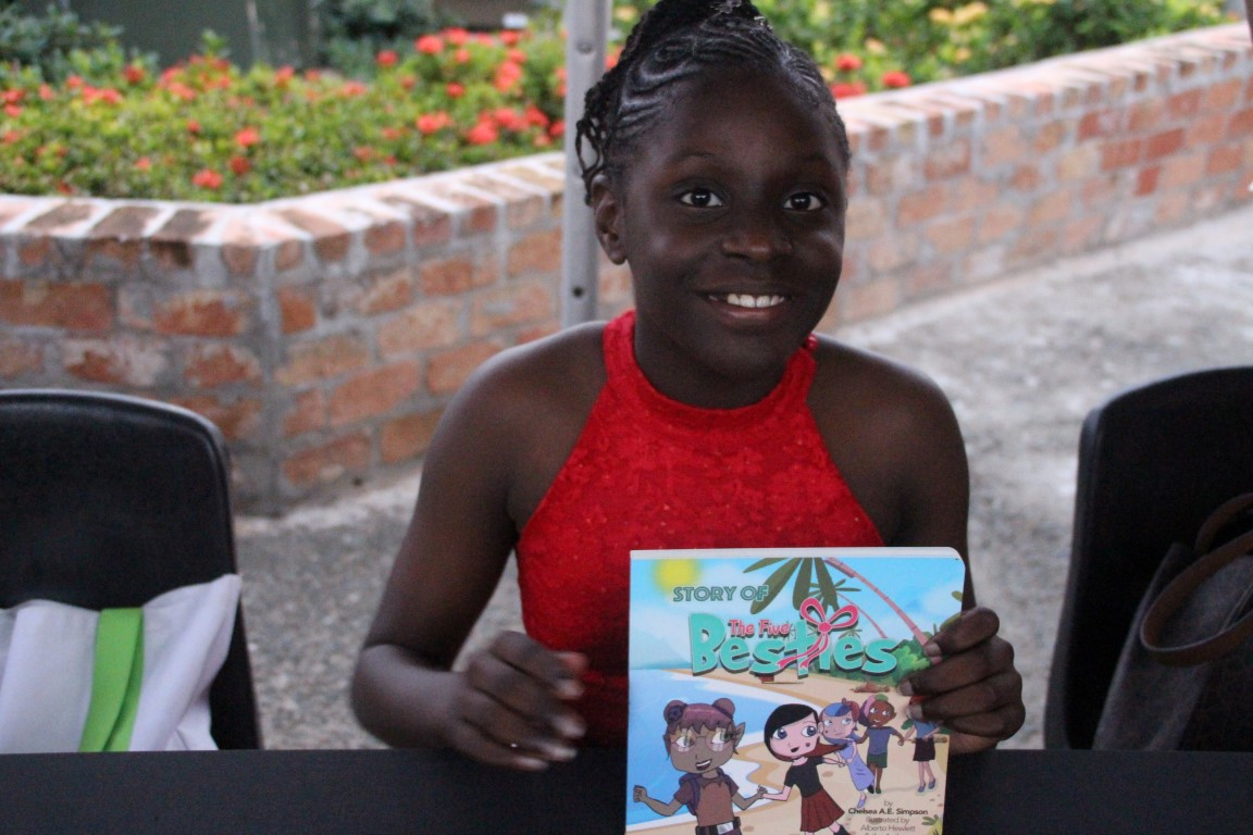 Young and gifted | 11-year-old pens children's book to join fraternity of BVI authors