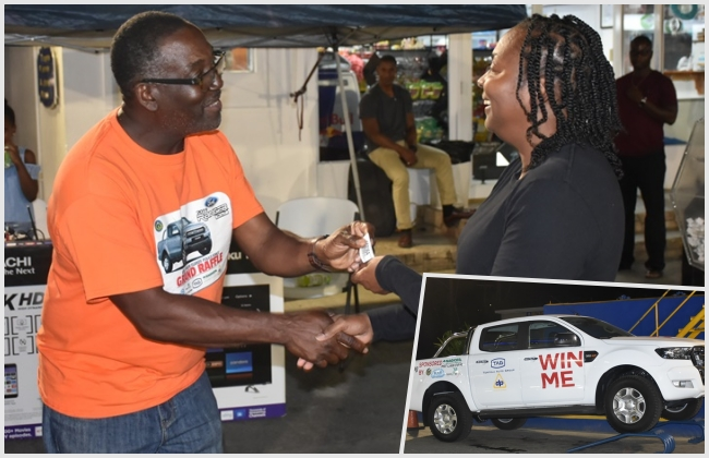 A vehicle for Christmas! East End resident the grand prize winner of RVIPF raffle