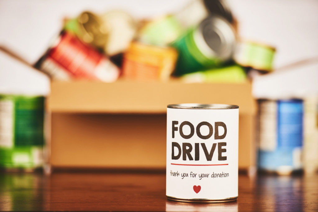 Help restock FSN's pantry! Local charities partner for a food drive