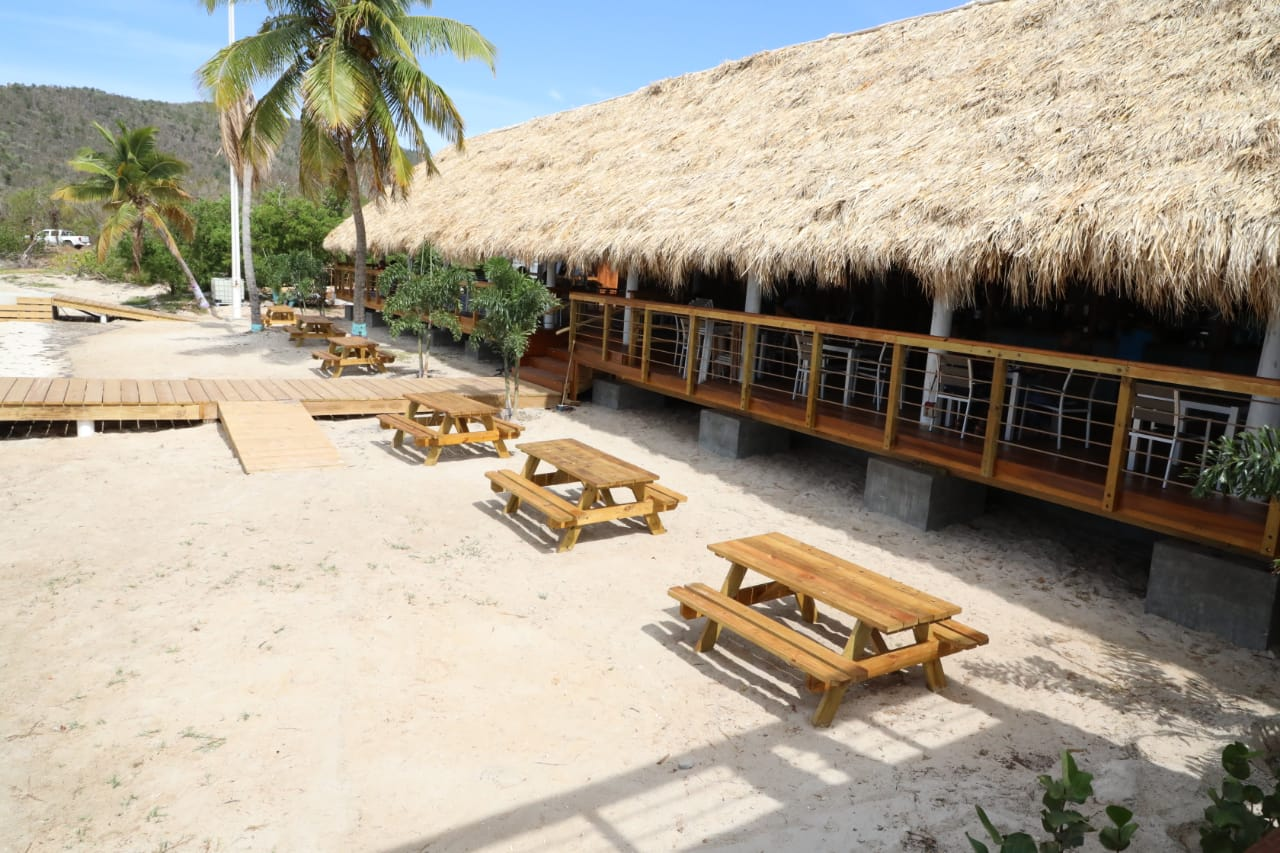 Three years later | Loose Mongoose re-opens in Trellis Bay