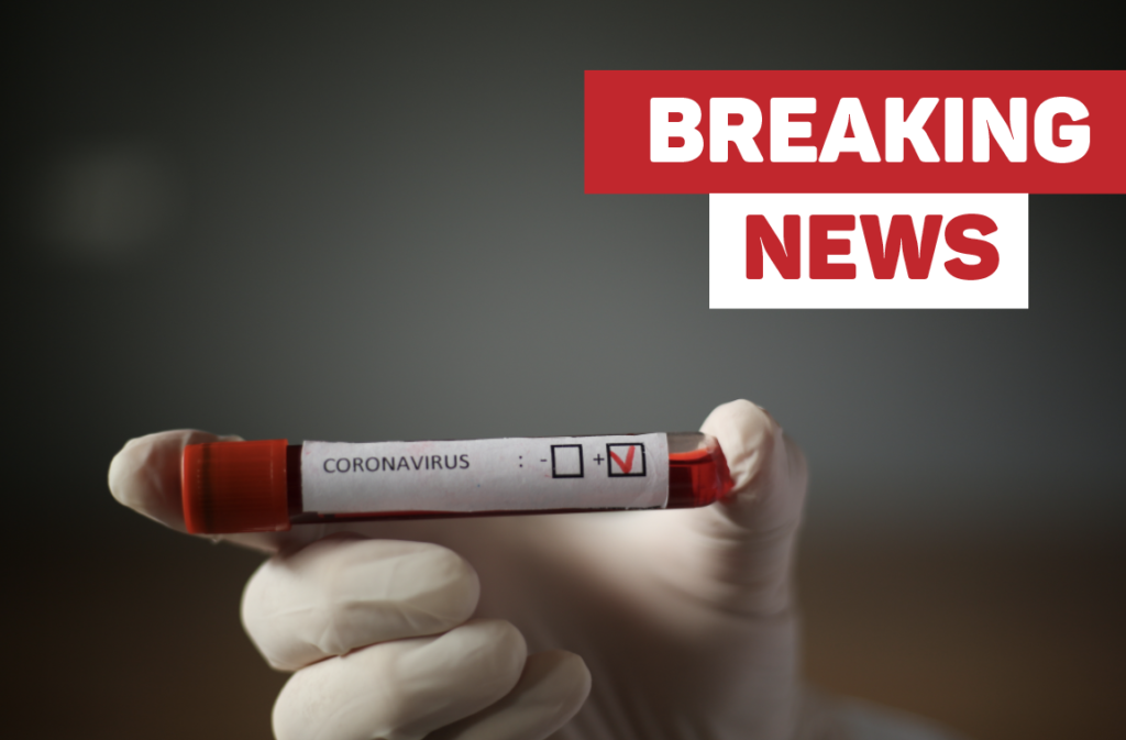 Returning resident tests positive for COVID-19