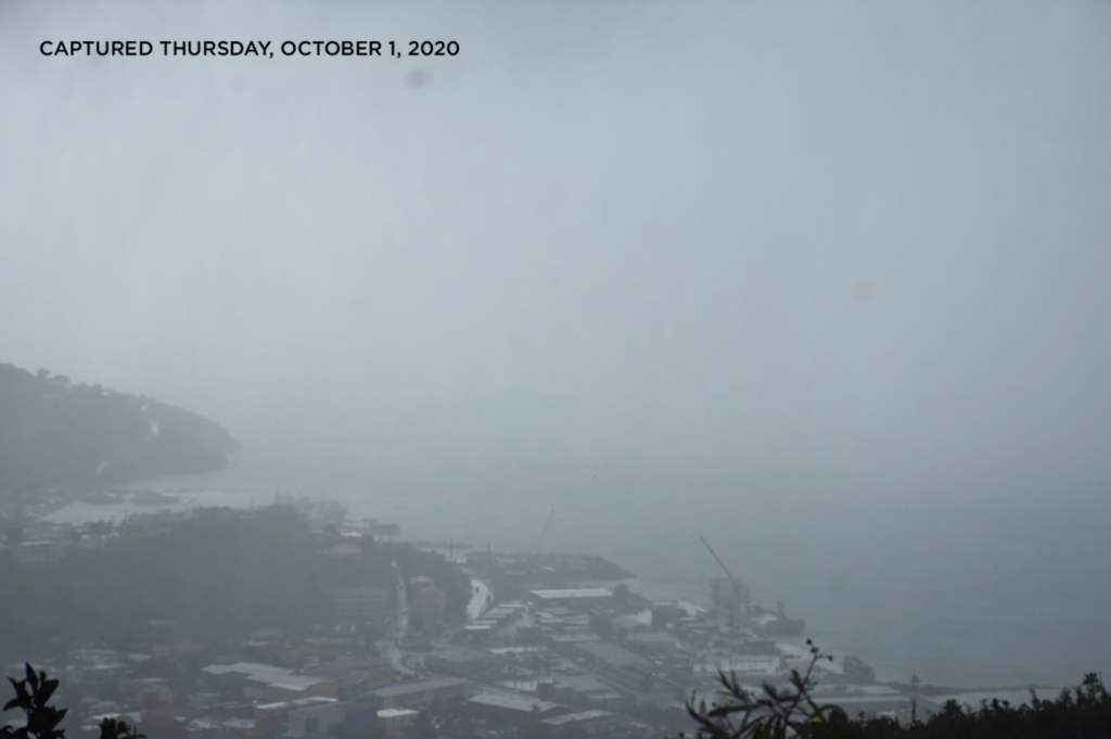 Small craft warning in effect as BVI expects inclement weather
