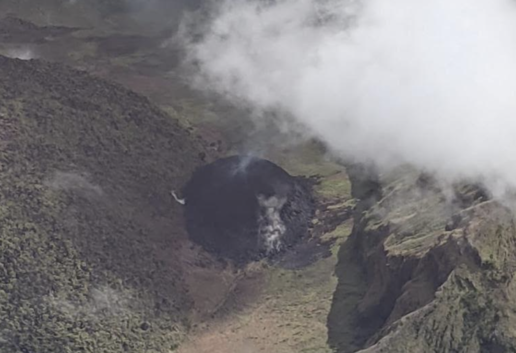 La Soufriere volcanic activity causes concern among Vincentians in BVI