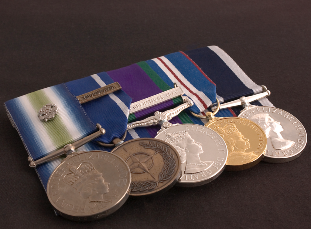 10 officers receive BVI's first Meritorious Service medal
