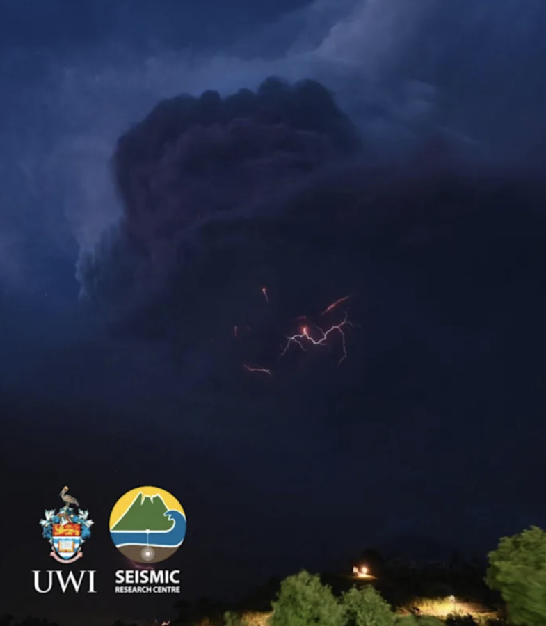 PHOTO OF THE DAY: Volcanic lightning over SVG