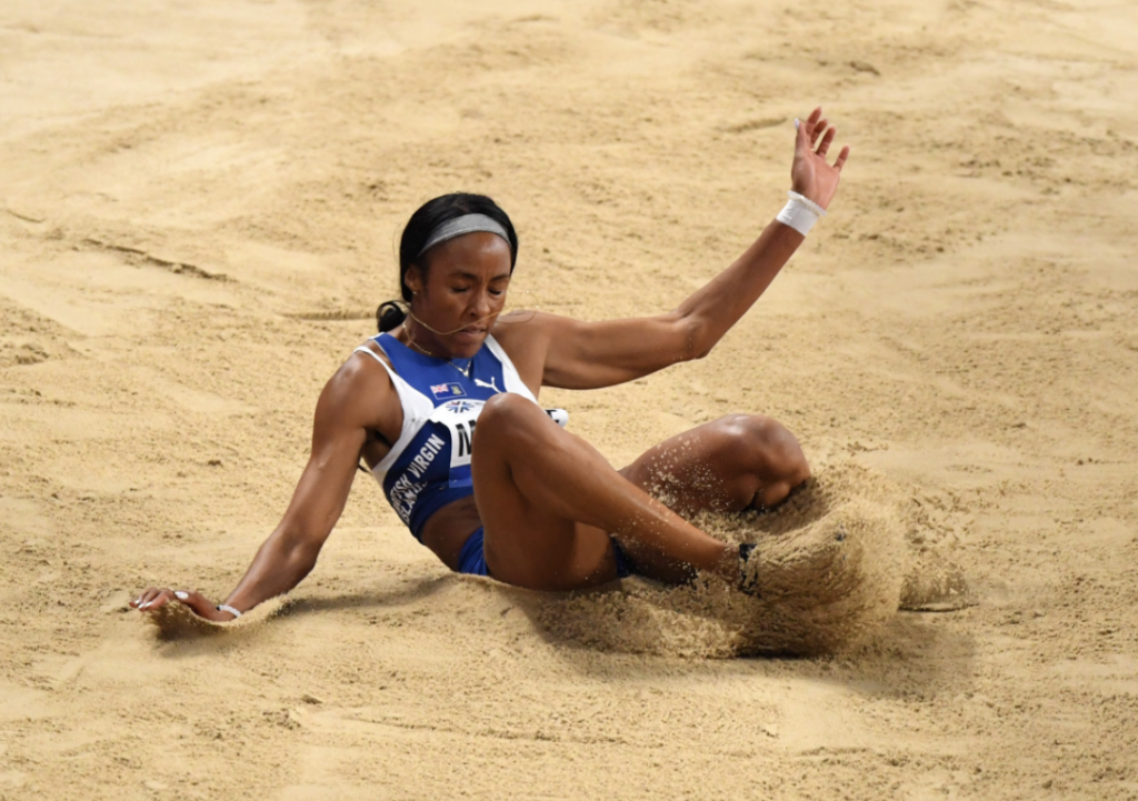 Historic! Chantel Malone jumps into the Olympic finals