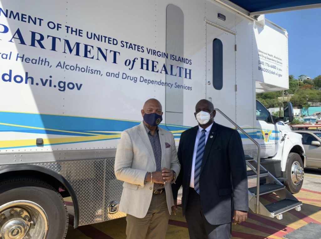 Over 200 BVI residents get COVID jab from USVI