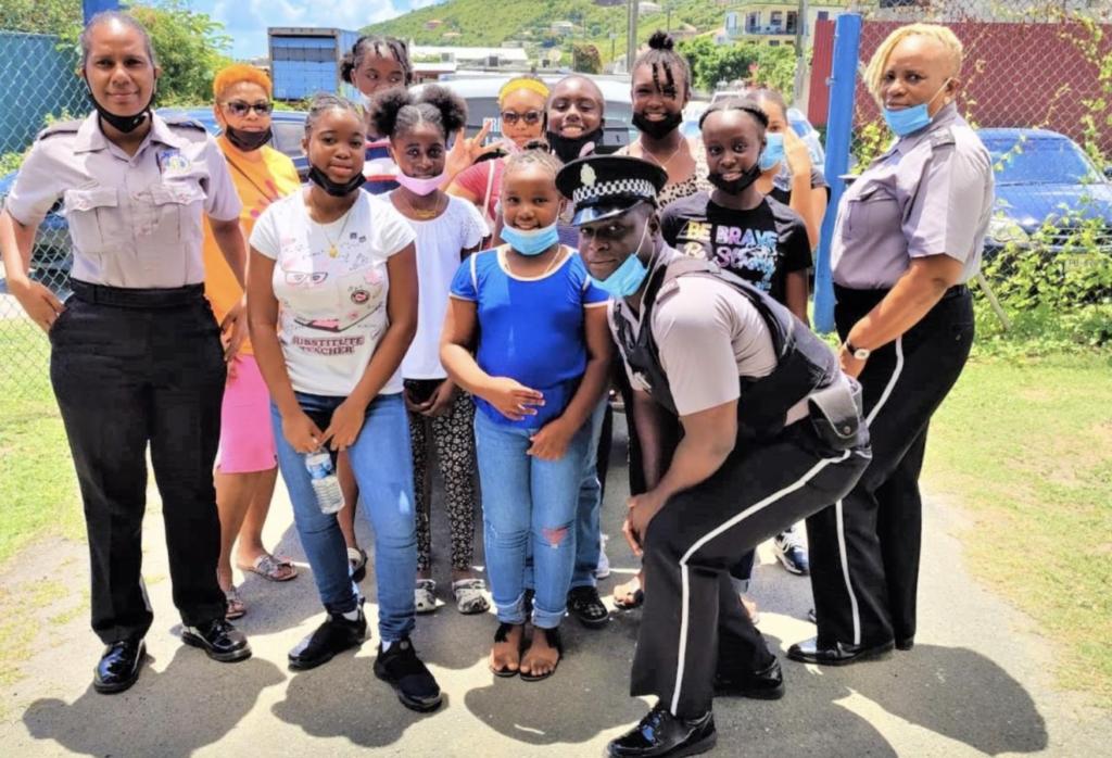 RVIPF community officers make their mark