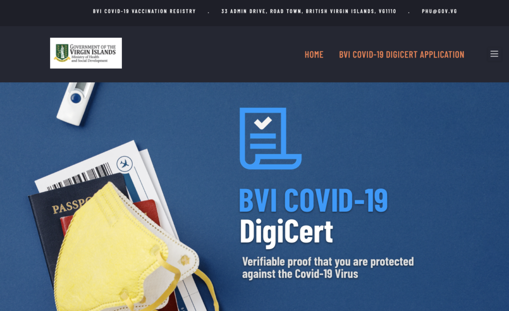 Digital COVID certificate platform officially launched